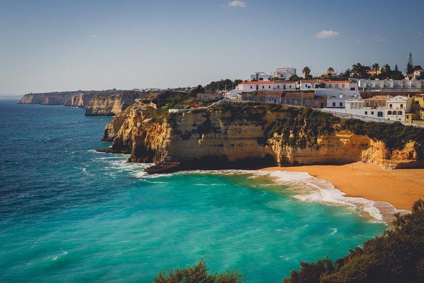 Portugalia poza sezonem zdjęcia z wakacji zdjęcia rodzinne